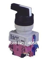 1N/O + 1N/c длинной ручкой 2 Позиции выберите кнопочный переключатель селектора ASW211-L монтажного отверстия 22 мм