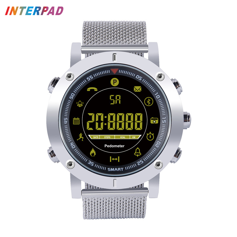 Interpad Smart Watch Professional Waterproof Fitness Tracker Pedometer Smartwatch Long Standby For Xiaomi Huawei iOS Android