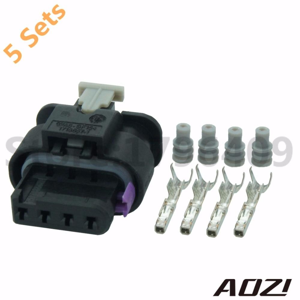 Wholesale 4way 1.5mm Electrical Crimp Connectors 1-1718645-1 Terminal New