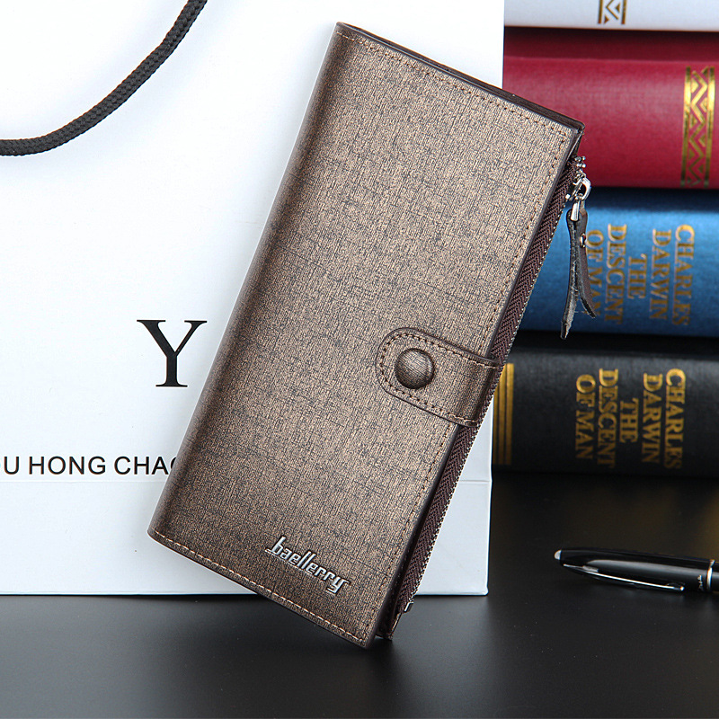Fashion New Quality Men Wallets Sewing Thread Design High Capacity Zipper Hasp Gold Blue 2 Folds Multi Credit Card Holder Wallet автоинструменты new design autocom cdp 2014 2 3in1 led ds150