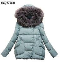 Womens Winter Jackets And Coats Winter Jacket Women Long Fur Hooded Winter Coat Women Cotton Padded