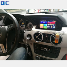 Системы Android широкий экран 10.25 '7' навигационная система GPS Тюнинг автомобилей видео для 2013-2015 GLK поддержка оригинальная система bluetooth