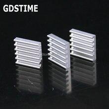 100PCS Gdstime Aluminum Heatsink Cooling 13x13x3mm Chipset Heat Sink RAM Radiator Cooler