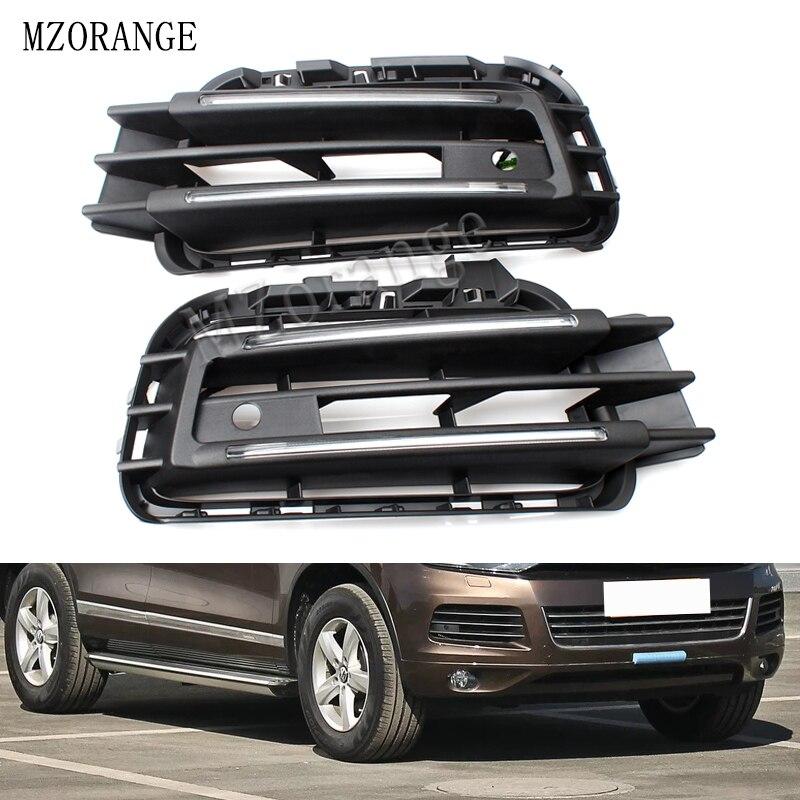 MZORANGE LED DRL feux de jour pour VW Touareg 2011-14 Super lumineux avec variateur contrôle expédition rapide