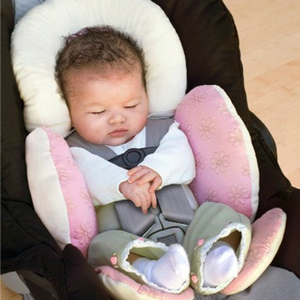 Baby Stroller Cushion soft PP Cotton head body protection pad 0-24 months baby Car Seat Safety Seat Newborn Pillow