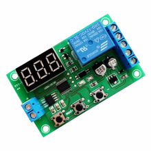 Current detection module / overcurrent protection Relay switch control board / detection current sensor switch photoresistor relay module light detection sensor 12v car light control