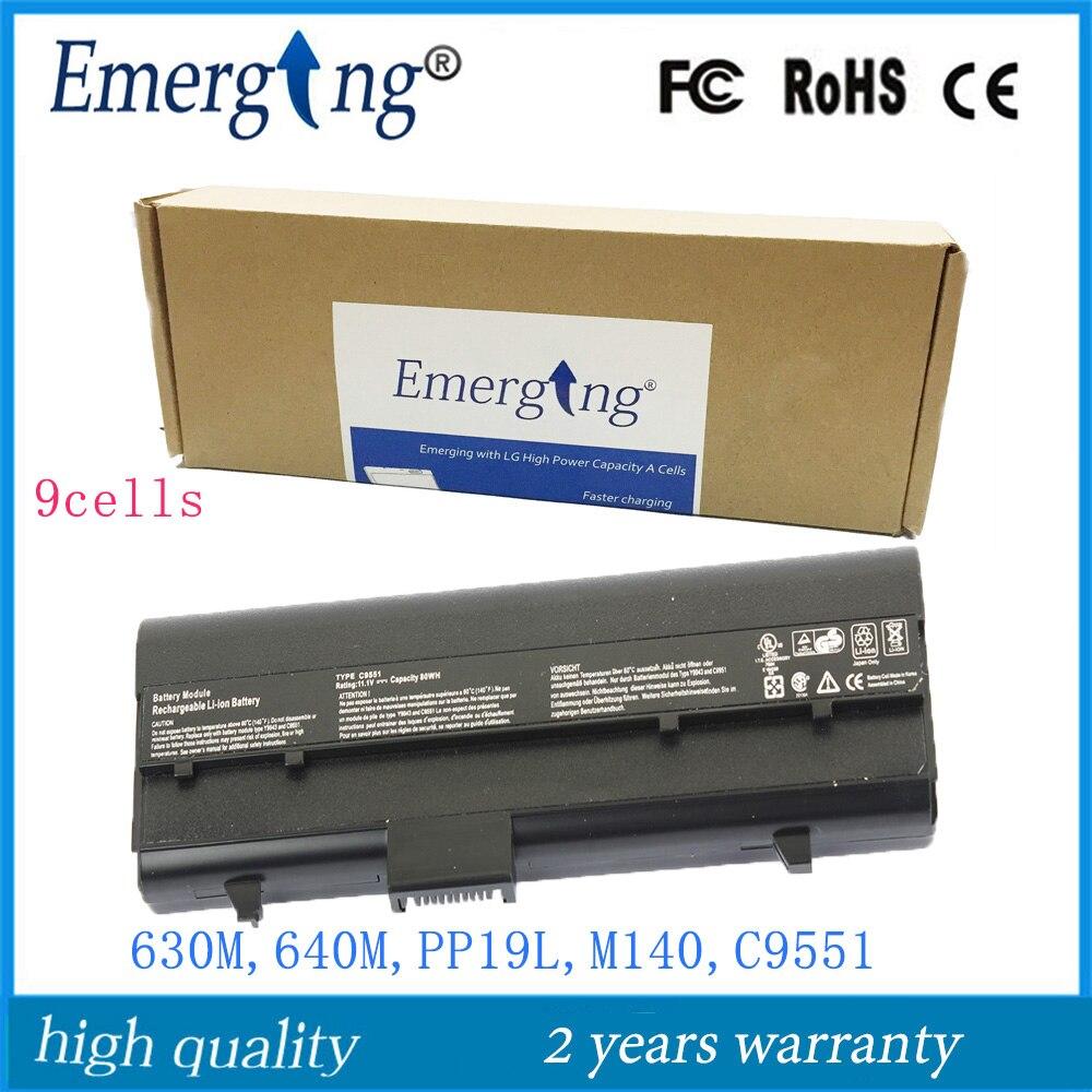 9 Sel 111 V 7200 Mah Jepang Baterai Laptop Baru Untuk Dell Nosepad Slide In Rumah Paten Inspiron 630 M 640 E1405 Pp19l Xps M140 Dh074 Rc107 Y9943 C9551