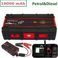Best quality 12V Petrol Diesel Emergency Starting Device Car Batteries Charger Car Jump Starter Booster Power Bank SOS light