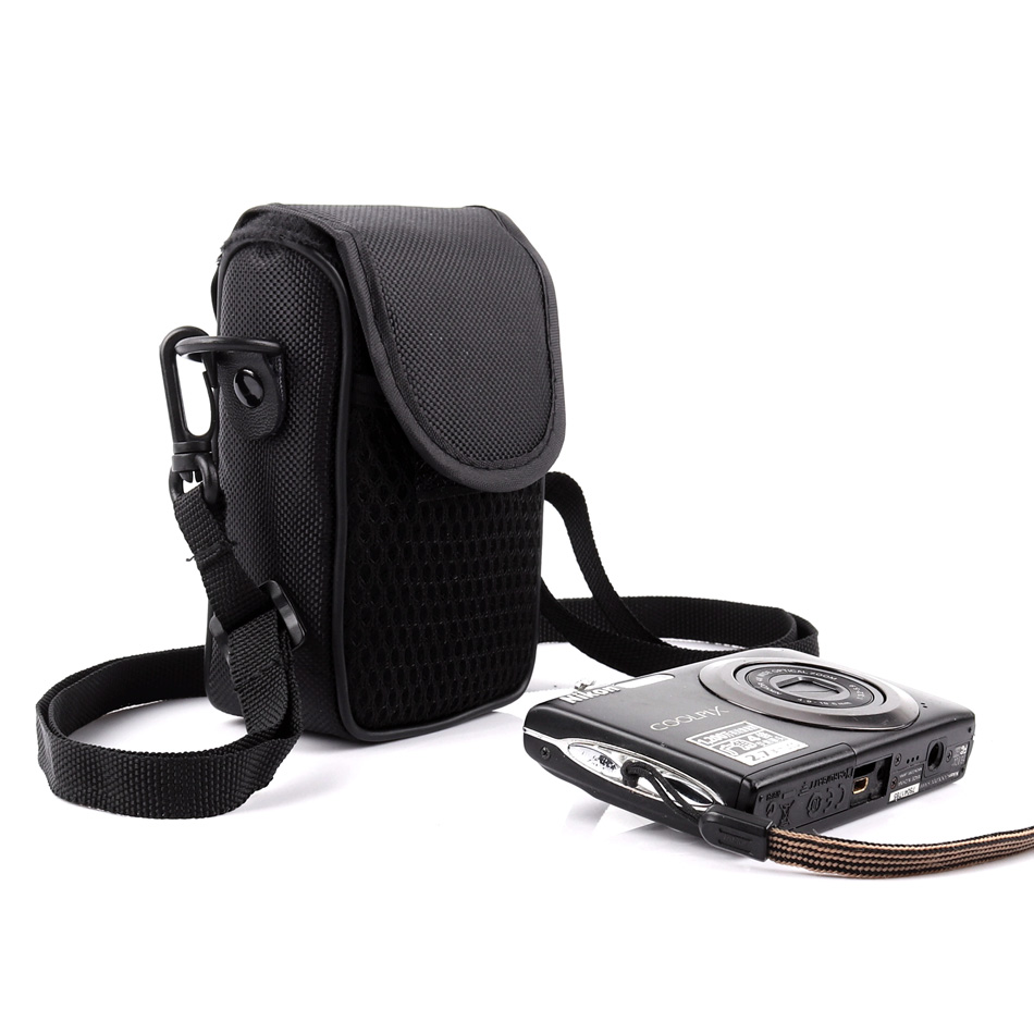 Varied Portable Digital Camera Bag For Panasonic <font><b>Lumix</b></font> DMC <font><b>LX3</b></font> ZS1/TZ6 ZS7 ZS8 ZS10 ZS15 3D1 LZ8 LZ10GK Card Case ZS7 TZ100 TZ90 image