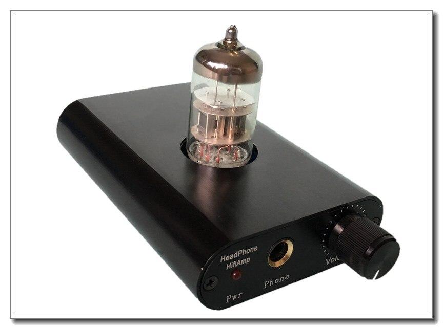 Готовые L. TubeMos Se Pure Class A HiFi 6N2 ламповый усилитель для наушников черный