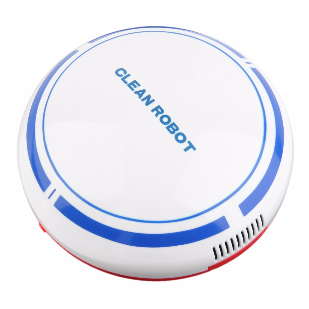 Rechargeable Vacuum Cleaner Smart Automatic Robotic Floor USB Mini Automatic Sweeper Dust Sweeping Machine Household Sweep Robot swdk wipe mopping machine sweep floor robot home fully automatic wireless intelligent electric mop vacuum cleaner free shipping