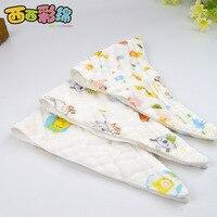 5PCS 45 29cm Cartoon Newborn Baby Bibs Waterproof Adjustable 100 Cotton Feeding Baby Saliva Towel For