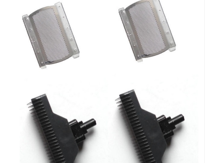 2 Sets Shaver  Replacement Shaving Products Razor Foil &Blade Head For Flyco FB1 FS625 FS626 FS628 FS629 Mesh Blade Head For Men