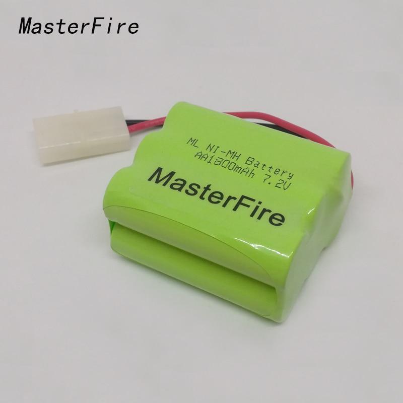 MasterFire 10 pacote/lote Brand New AA 7.2V 1800mAh Ni-MH Bateria Recarregável NiMH Baterias Pack Para O Barco DO RC, carro, Caminhão