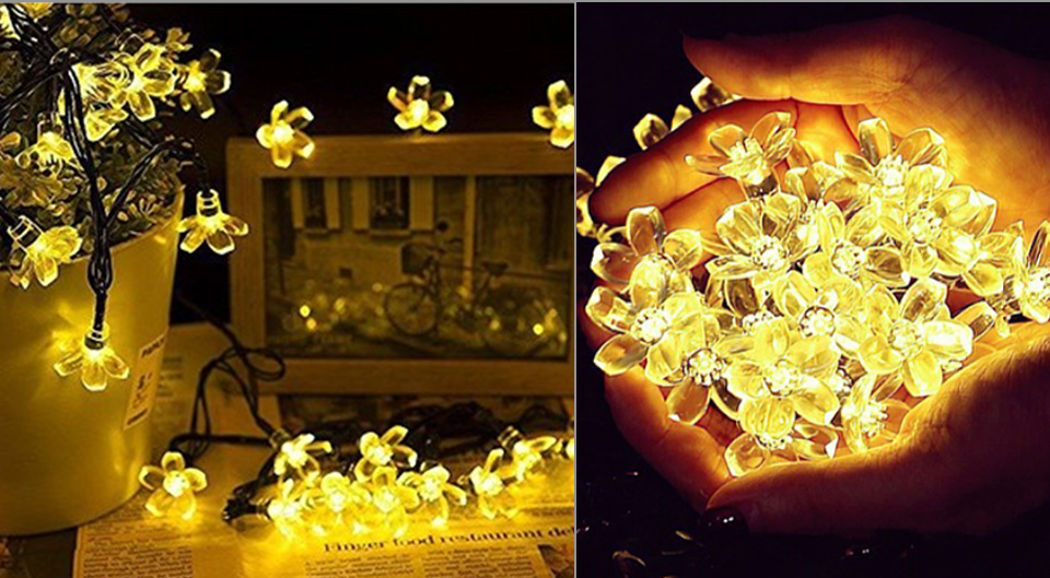 Solar String Lights 3050 LED Garland Outdoor Flower LED String Fairy Christmas Tree Light Party Wedding New Year Decoration (11)