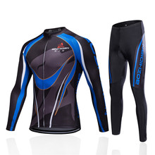 цены 2017 Winter Thermal Fleece Cycling Jersey Set Ropa Ciclismo Hombre Invierno Cycling Bike Bicycle MTB Clothing Men's Sportswear