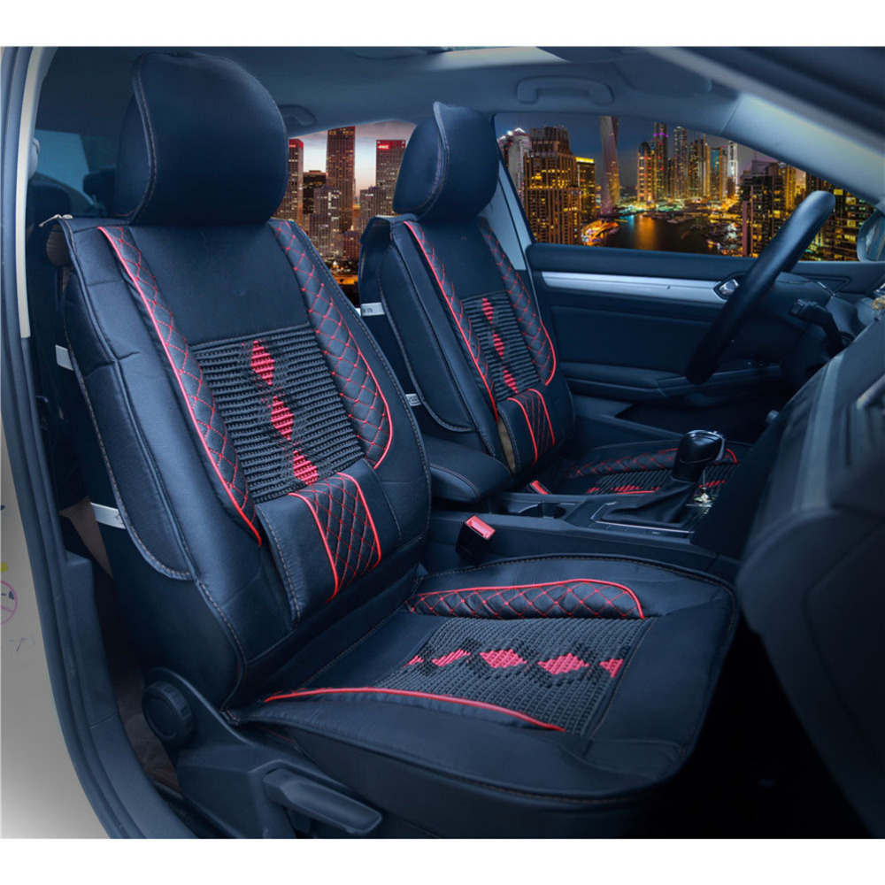 Cushion Front-Seat-Cover Cooling Seat-Protector Waist-Support-Pad Car-Interior-Accessories