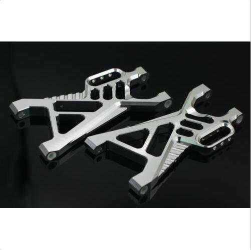RC GTBRacing Rear Lower Arm for hpi km rv baja 5b ss (GR001) baja alloy rear lower control arm 2pc