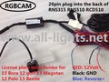 RGB Parking Camera for Volksagen Bora Golf Magotan Polo Beetle with RNS315 RNS510 RCD510