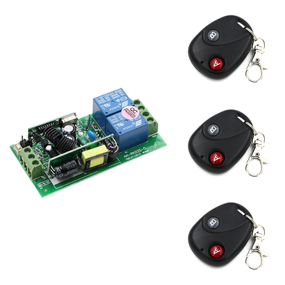 RF Wireless Remote Control Relay Switch with Receiver Security System Garage Doors RF Learning Code Electric Doors kindt matt mind mgmt vol 1 the manager
