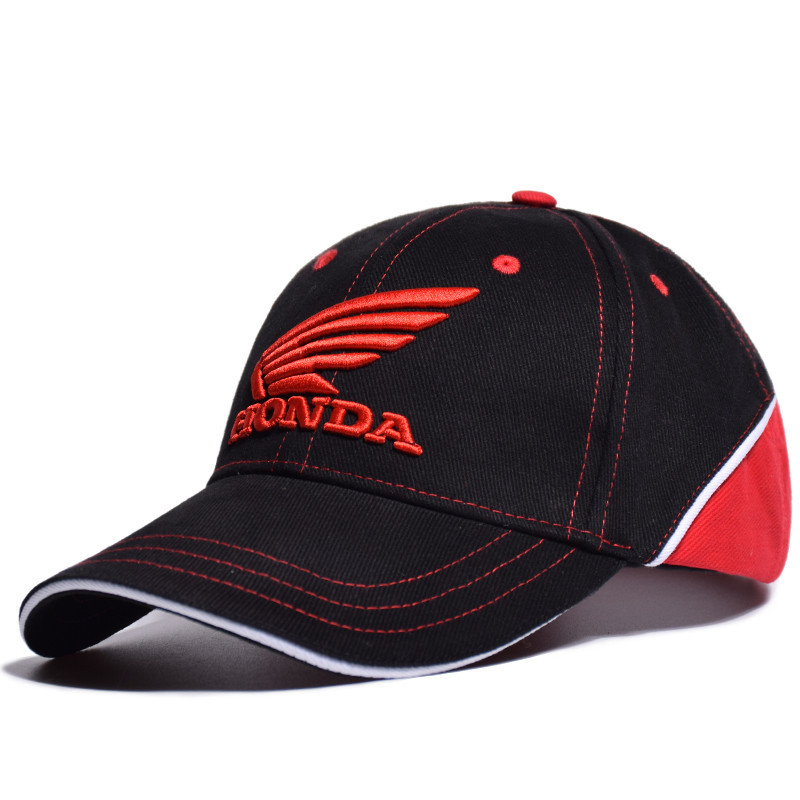 Baseball     Cap   Sports Racing Car Men's Sunglasses Moto GP Honda Motocross Riding Hats   Cap   Racing F1 Motorcycle 3D Embroidered Wing