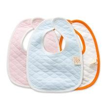 Bebê crianças algodão babadores saliva toalha alimentação almoço bandana avental babadores burp panos crianças acessórios