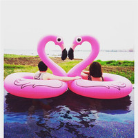 New Pool Float Inflatable Boat Peacock Swimming Float Adult Swim Ring Summer Water Toy With Pump