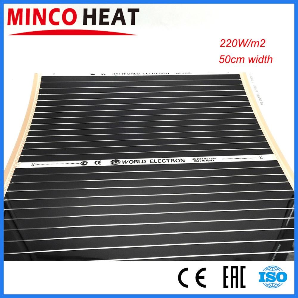 Electric Warm Floor Heating Film