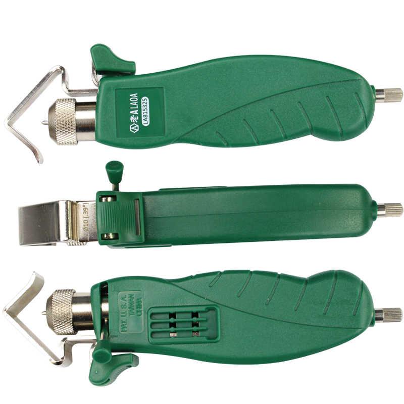 LAOA металлический кабель роторный Баркер инструмент для зачистки Patchcord инструмент для зачистки плоскогубцы шлифовальные плоскогубцы