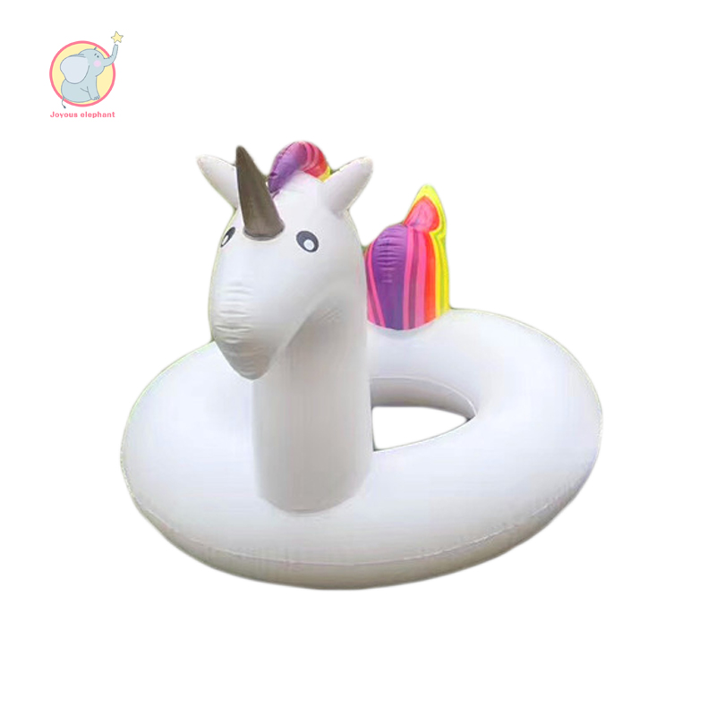 2 size huge inflatable swim ring float county unicorn pool for child baby adult large fun interest patry water beach toys