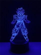 Dragon Ball Goku 3D Night Lamp