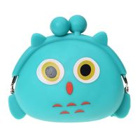 5pcs Of Women Girls Wallet Kawaii Cute Cartoon Animal Silicone Jelly Coin Bag Purse Kids Gift