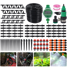 25m Automatic Drip Irrigation System Kits Garden Spray Self Watering Summer Sprinkler Hose Greenhouse Park Micro Indoor Outdoor