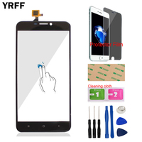 YRFF TouchGlass Front For Oukitel U20 Plus Touch Screen Touch Digitizer Panel Glass Tools Free Protecotr