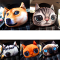 Car seat head cushion dog and cat tiger car creative headrest car seat cushion auto supplies Neck headrest
