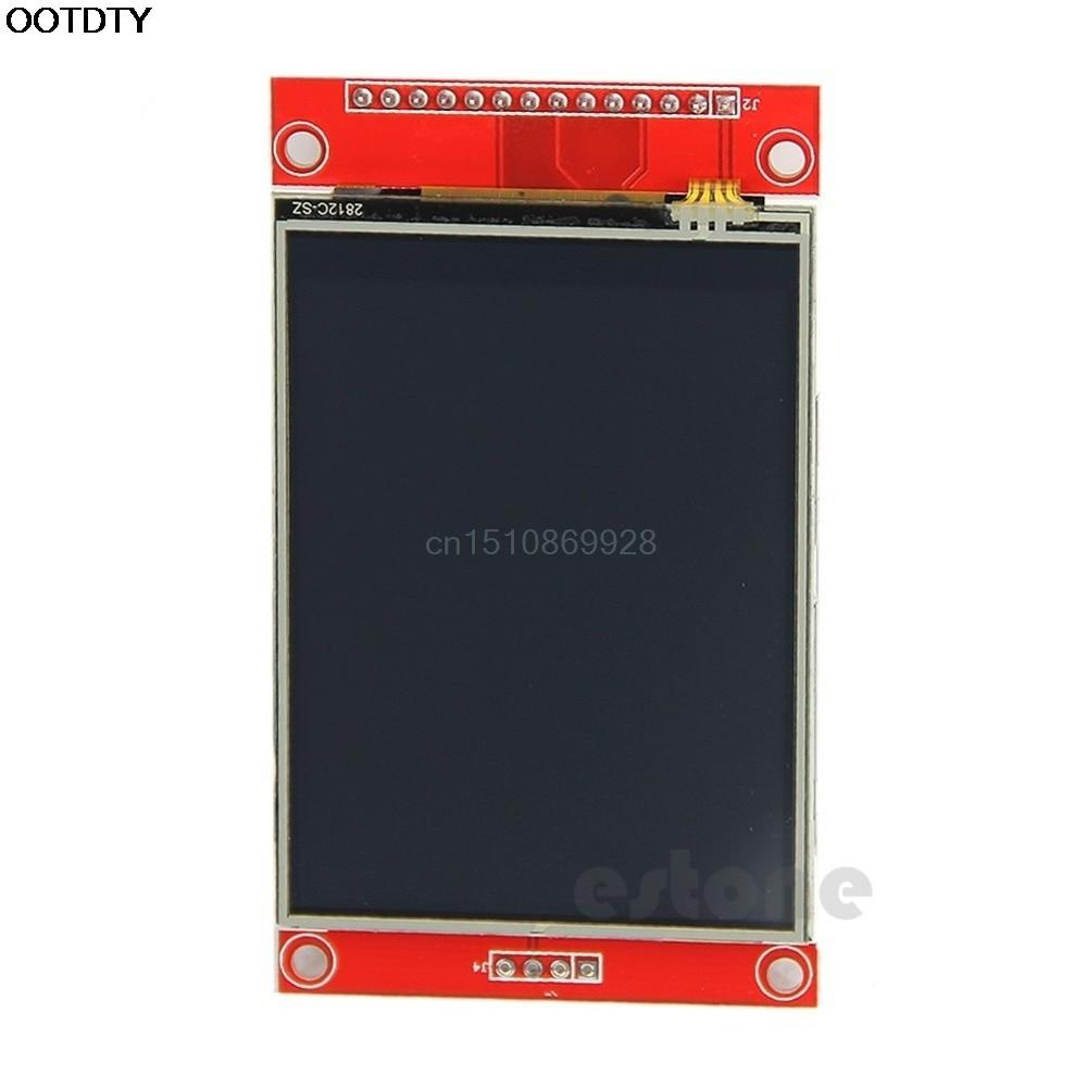 цена на 240x320 2.8 SPI TFT LCD Touch Panel Serial Port Module with PCB ILI9341 5V/3.3V