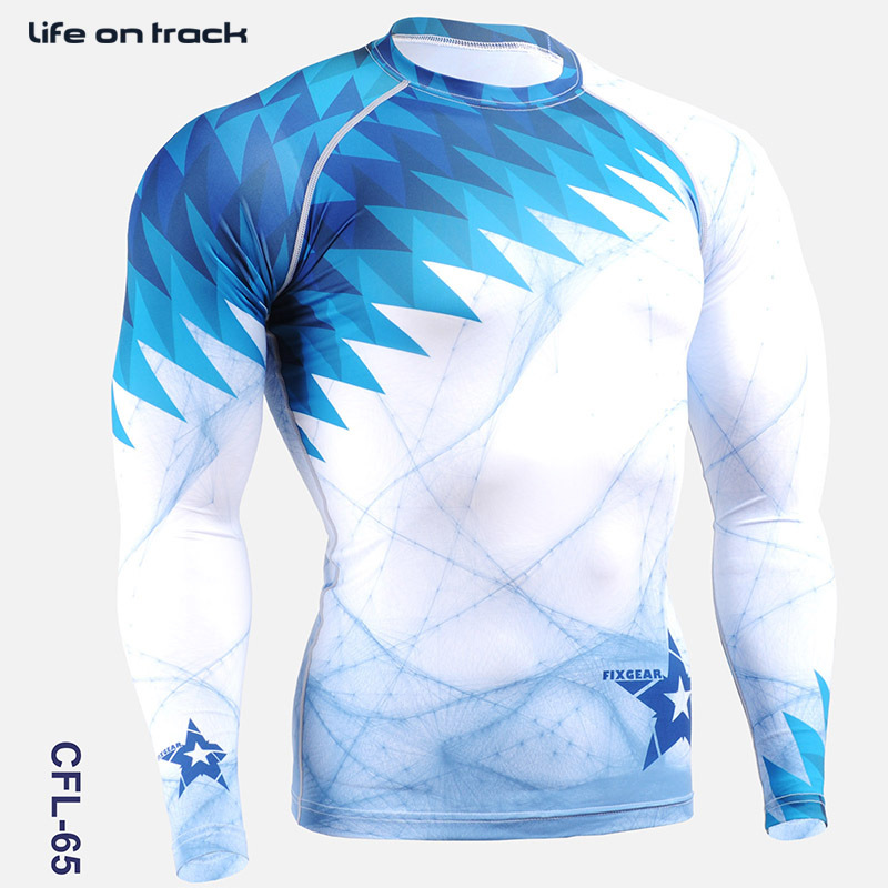 Hombre Running Tops Compression Shirts Brand New Bodybuilding Manga - Ropa deportiva y accesorios