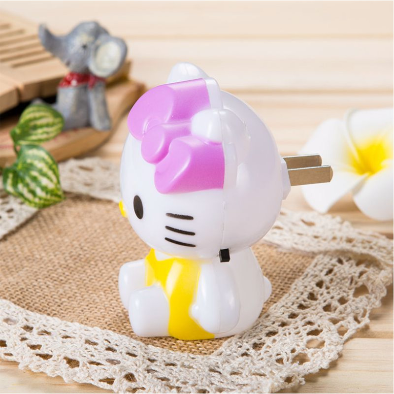 KT Cat Night Light Energy Saving And Energy Saving Suitable For Children's Room Night Light