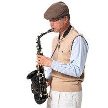Новый Eb Alto саксофон комплект прочный Бас тела профессиональная Музыкальные инструменты личные Eb Alto саксофон Наборы подарки