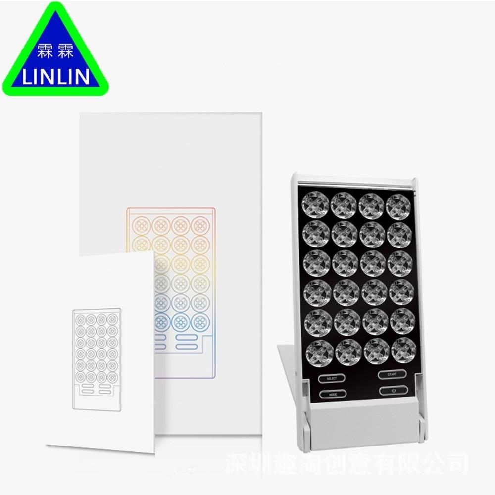 LINLINLED small row lamp Mini illuminating beauty apparatus face illuminator whitening and rejuvenation household whitening lamp