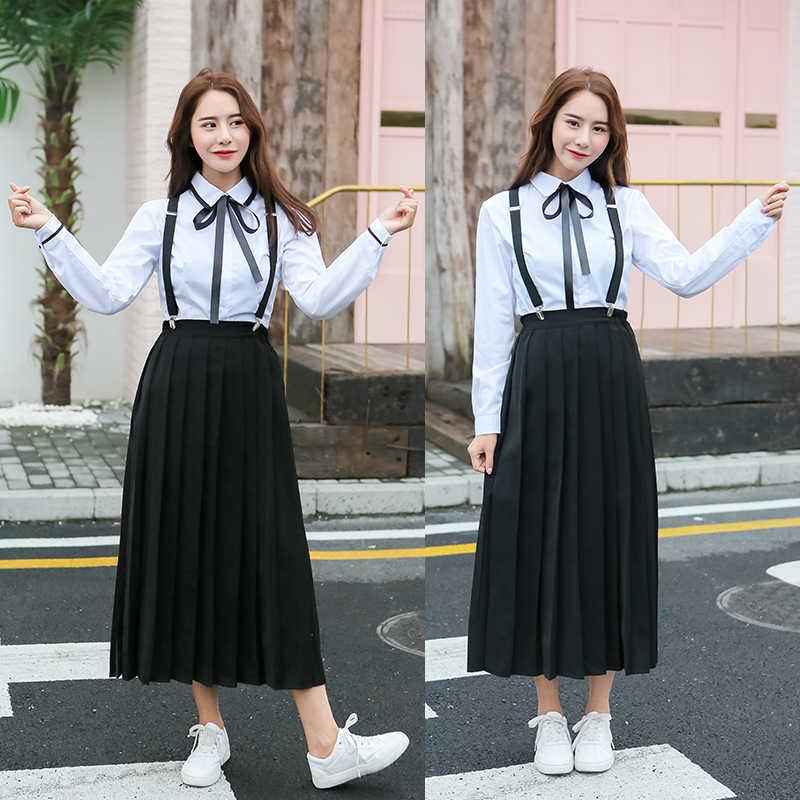 日本中学生学校の制服のスーツ英国の大学のスタイル秋冬の少年少女クラススカートセット H2417