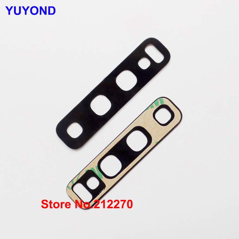 YUYOND Original New Back Rear Camera Glass Lens Replacement For Samsung Galaxy S10 S10 Plus Adhesive