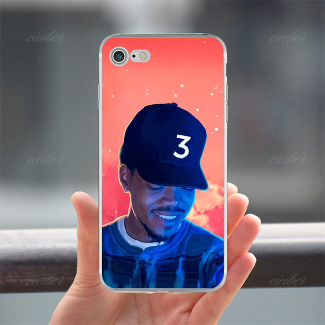 Us 3 49 Ciciber Phone Cases Chance The Rapper Coloring Book Soft Silicon Cover For Iphone 6 6s 7 8 Plus 5s Se X Capinha Coque Fundas In Fitted Cases