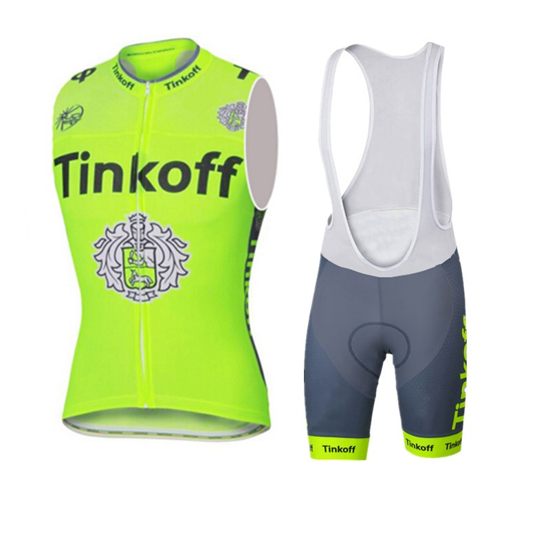 ФОТО Fluo yellow 2016 Ropa ciclismo Cycling vest sleeveless jersey Summer style Cycling clothing MTB bicicleta Breathable T-77