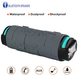 Outdoor Portable Bluetooth Speaker Powerful Bluetooth Column Shockproof Wireless speaker With Power Bank 5200mAh 10W