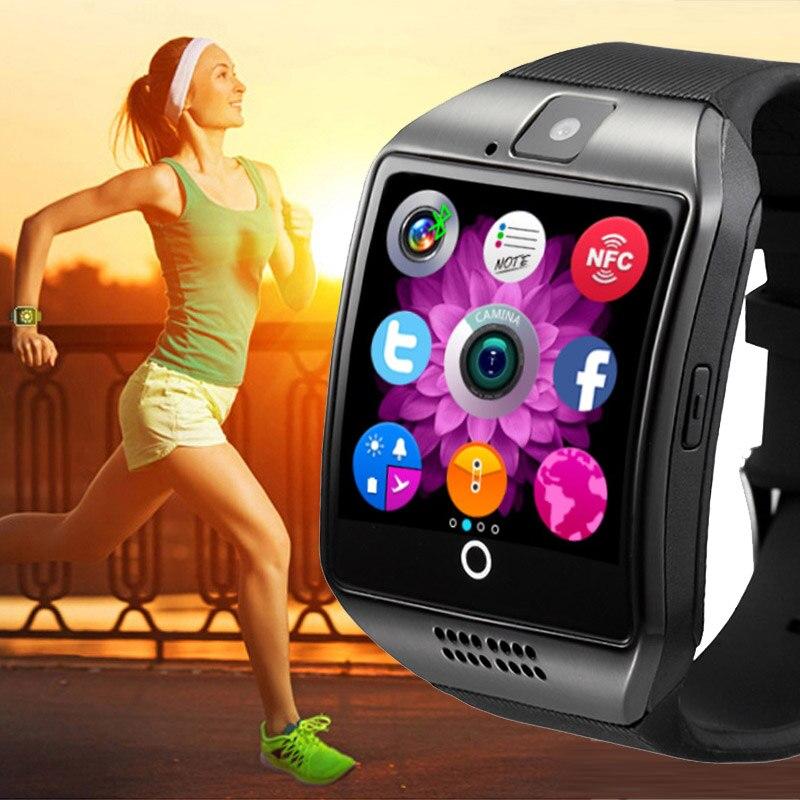 Sport Intelligent Bracelet Hommes Femmes Bracelet de Remise En Forme Podomètre Tactile le Sommeil Appareil GPS Fonctionnant NFC Extérieure Montre Smart Watch Bracelet