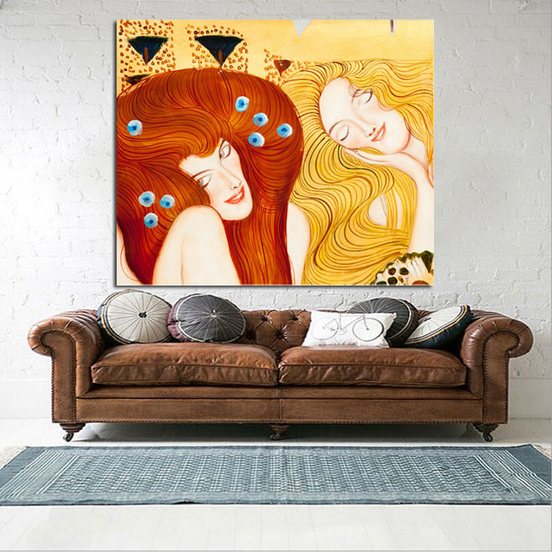 Modern Abstract Oil Painting On Canvas Wall Art Decorative Wall Pictures Hand Painted Home Decor Christmas Gifts Ready To Hang in Painting Calligraphy from Home Garden