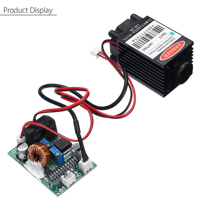 módulo laser azul ttl 12v diy cnc