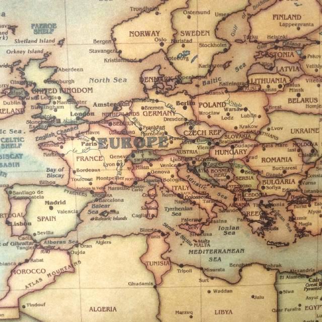 Choose size: The old navigation World Map huge large Vintage Style on