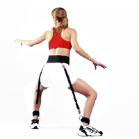 Basketball Bounce Jump Spring Leaping Training Resistance Strength Bands Crossfit Fitness Equipment Rope Volleyball High Trainer